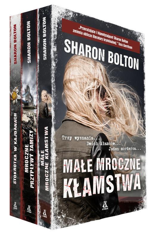 okładka Małe mroczne kłamstwa / Mroczne przypływy Tamizy / Stokrotka w kajdanach Pakiet, Książka   Bolton Sharon