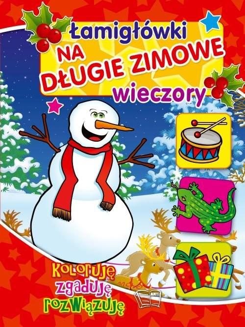 okładka Łamigłówki na długie zimowe wieczory, Książka |
