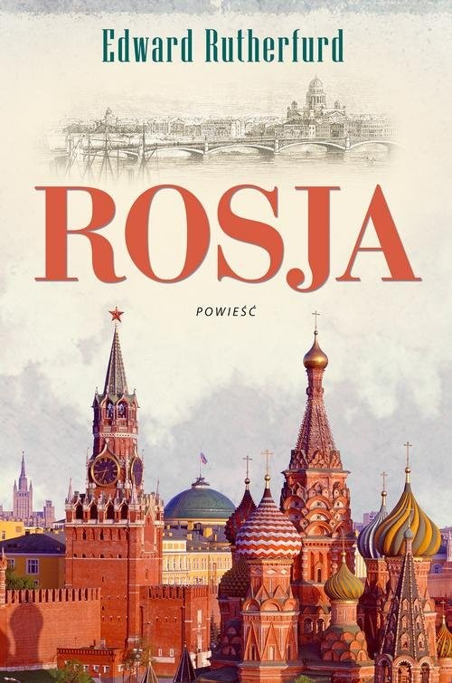 okładka Rosja, Książka | Rutherfurd Edward