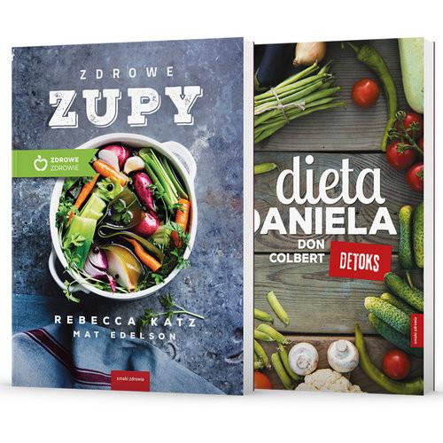 okładka Dieta Daniela / Zdrowe zupy Pakiet, Książka | Colbert Don, Katz Rebecca, Edelson Mat