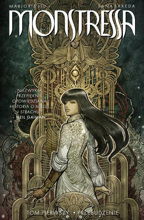 okładka Monstressa, Książka | Marjorie liu, Sana Takeda
