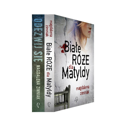 okładka Białe róże dla Matyldy / Odezwij się Pakiet, Książka | Zimniak Magdalena