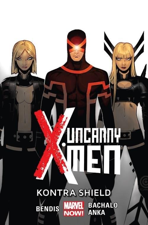 okładka Uncanny X-Men Tom 4 Kontra Shield, Książka | Brian Michael Bendis, Chris Bachalo, Kri Anka