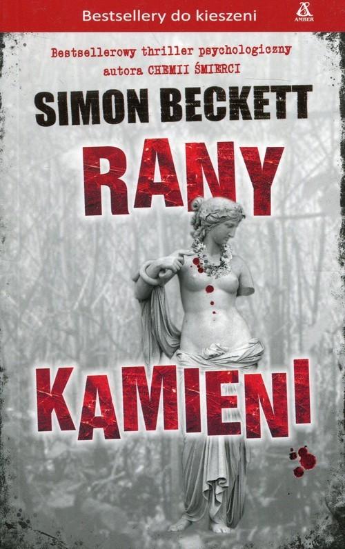 okładka Rany kamieni, Książka | Beckett Simon