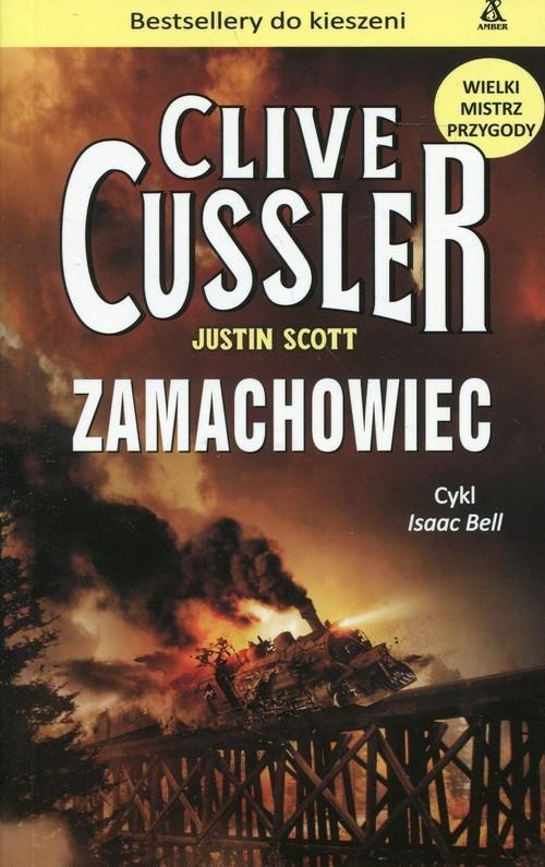okładka Zamachowiec, Książka | Cussler Clive, Justin Scott