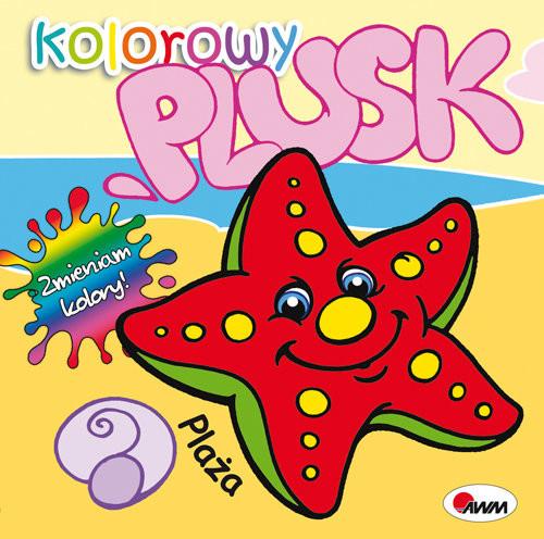 okładka Kolorowy plusk Plaża, Książka | Kwiecińska Mirosława