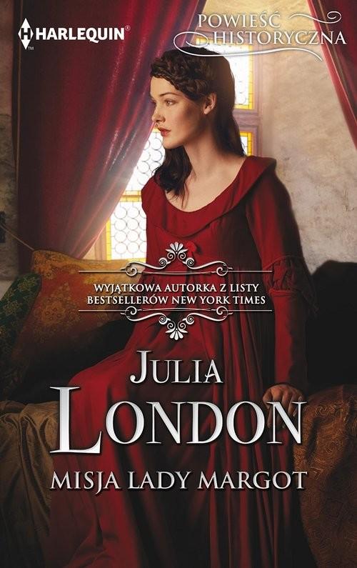 okładka Misja lady Margot, Książka   London Julia