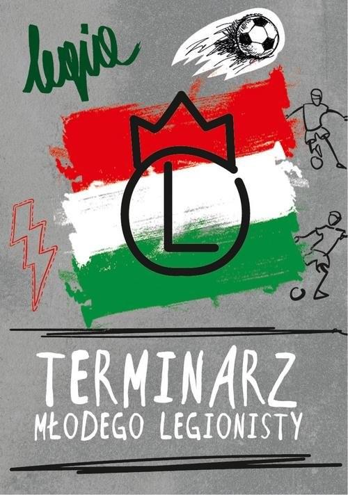 okładka Terminarz Młodego Legionistyksiążka     
