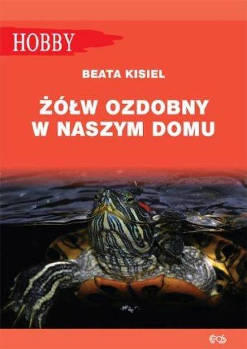okładka Żółw ozdobny w naszym domu pielęgnowanie, Książka | Marcin Jan Gorazdowski