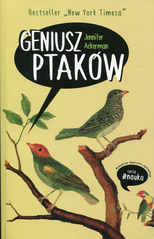 okładka Geniusz ptaków. KsiążkaAckerman Jennifer