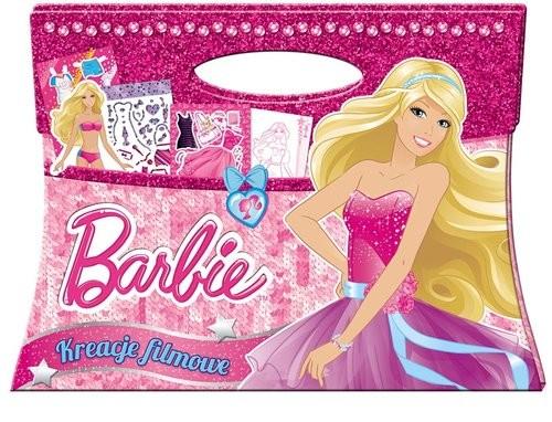 okładka Barbie Kreacje filmowe BAG1002, Książka |