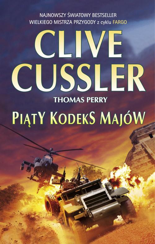 okładka Piąty kodeks Majów, Książka | Cussler Clive, Thomas Perry