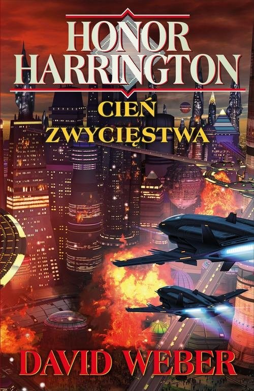 okładka Honor Harrington Cień zwycięstwa, Książka | David Weber