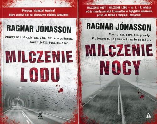 okładka Milczenie lodu / Milczenie nocy Pakiet, Książka | Jonasson Ragnar