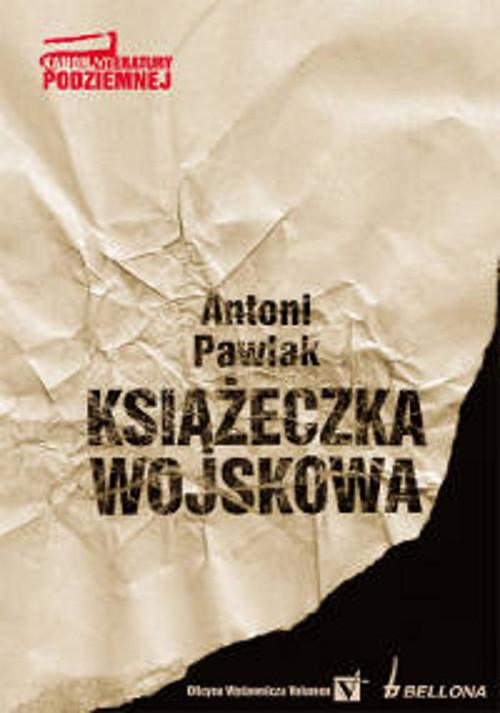 okładka Książeczka wojskowa, Książka | Antoni Pawlak