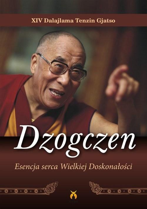 okładka Dzogczen Esencja serca Wielkiej Doskonałościksiążka      XIV Dalajlama
