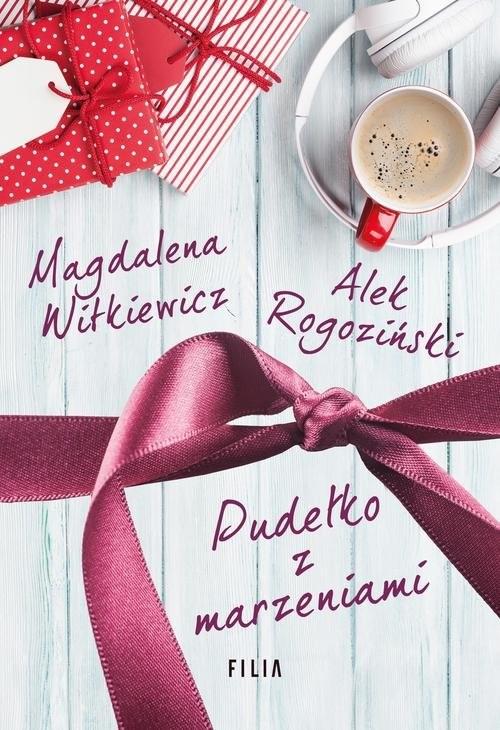 okładka Pudełko z marzeniami, Książka | Magdalena Witkiewicz, Alek Rogoziński