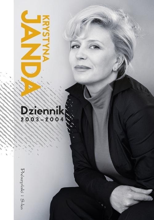 okładka Dziennik 2003-2004, Książka | Janda Krystyna
