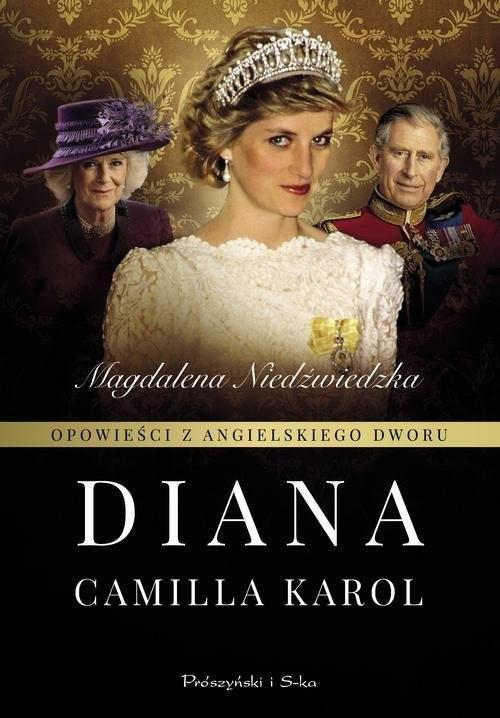 okładka Opowieści z angielskiego dworu Dianaksiążka      Niedżwiedzka Magdalena