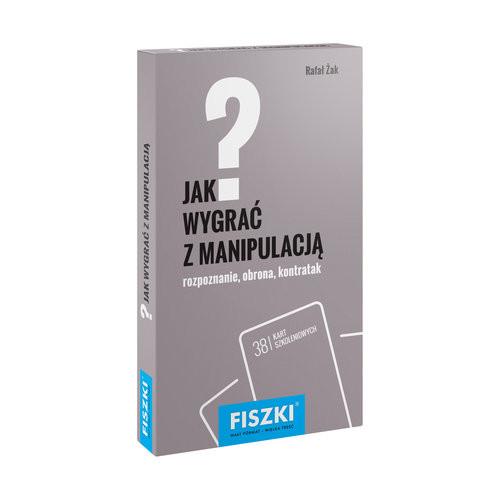 okładka Fiszki Jak wygrać z manipulacją, Książka | Żak Rafał