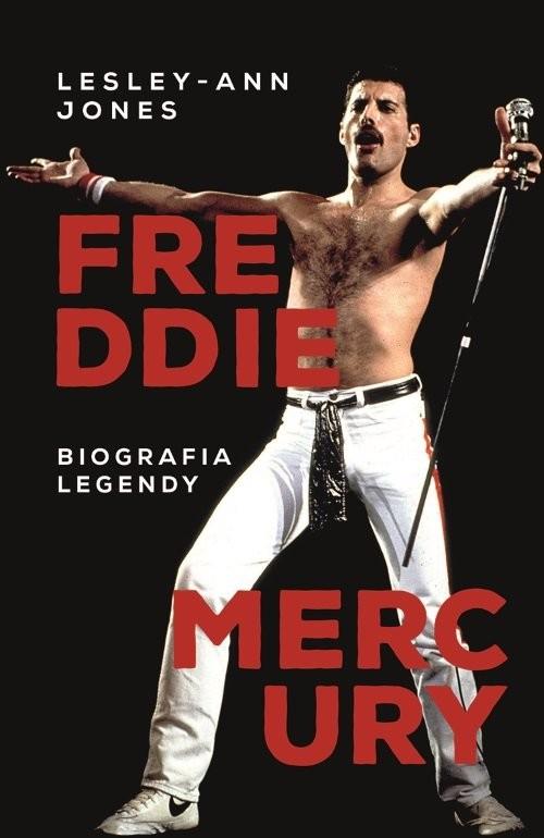okładka Freddie Mercury, Książka | Jones Lesley-Ann