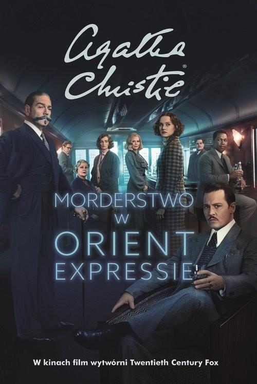 okładka Morderstwo w Orient Expressie. KsiążkaChristie Agatha
