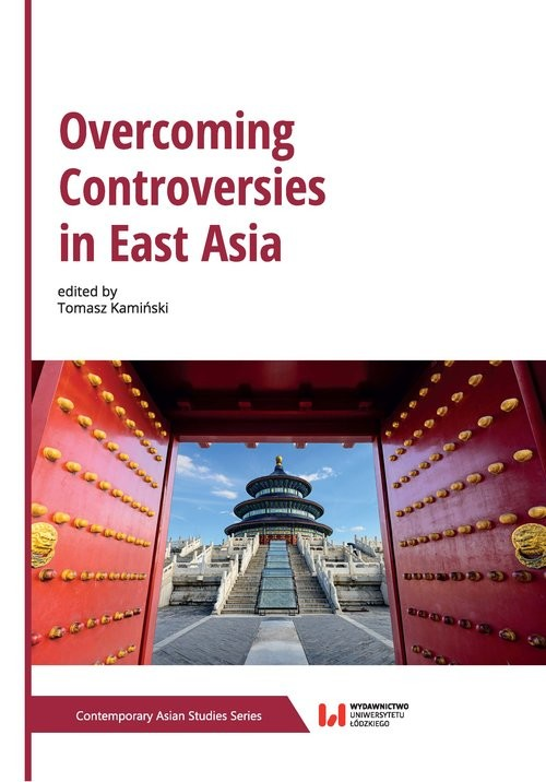 okładka Overcoming Controversies in East Asia, Książka  