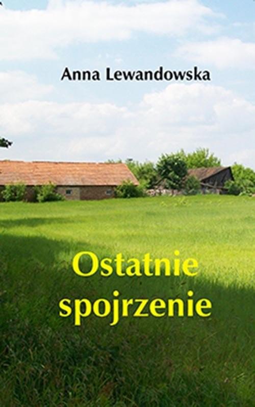 okładka Ostatnie spojrzenie, Książka | Anna  Lewandowska