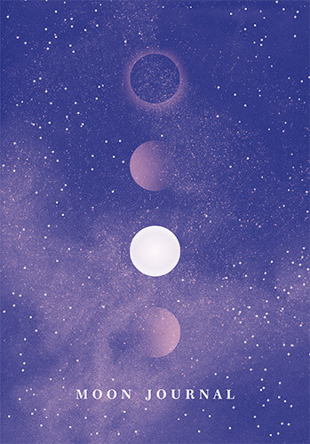 okładka Moon Journal, Książka | Sitron Sandra