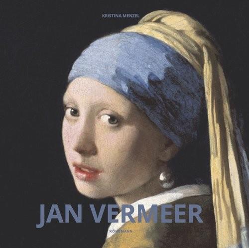 okładka Jan Vermeer, Książka   Menzel Kristina