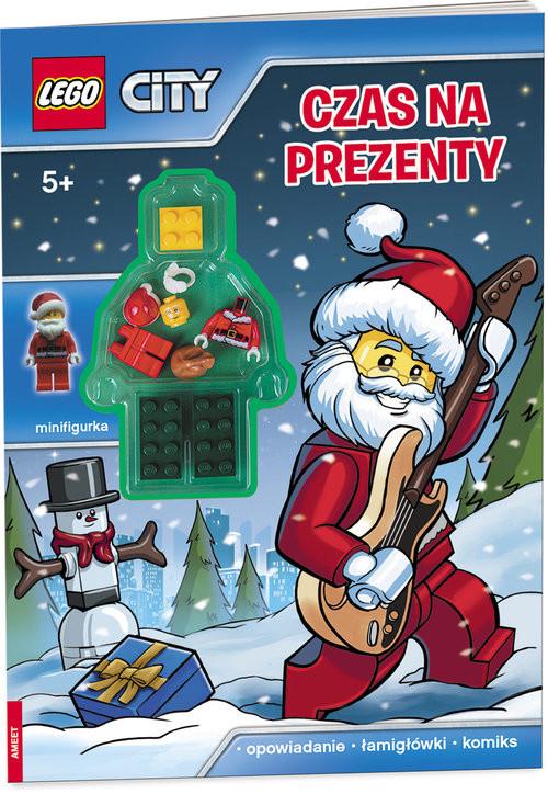 okładka Lego City Czas na prezenty LMJ-14, Książka | Opracowanie zbiorowe