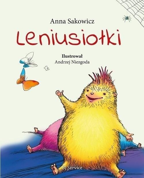 okładka Leniusiołki, Książka | Sakowicz Anna