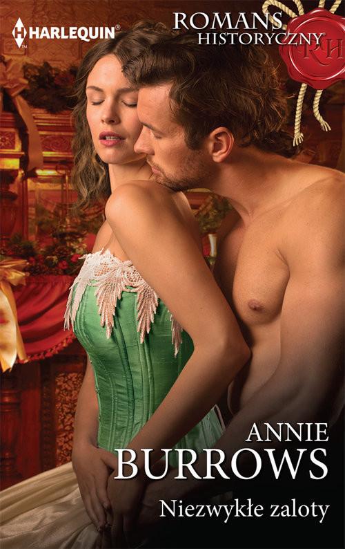 okładka Niezwykłe zaloty, Książka | Annie Burrows