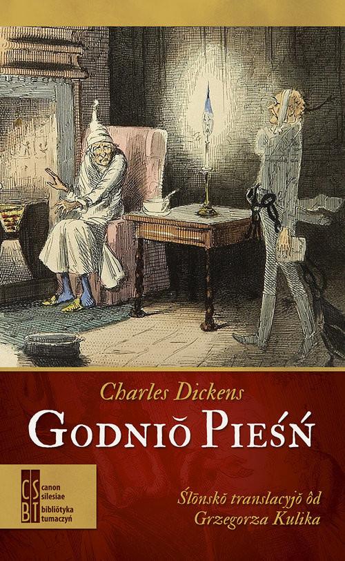 okładka Godnio pieśń, Książka | Charles Dickens
