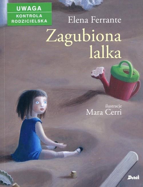 okładka Zagubiona lalka, Książka | Ferrante Elena