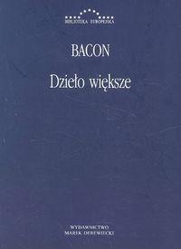 okładka Dzieło większe, Książka | Bacon Roger