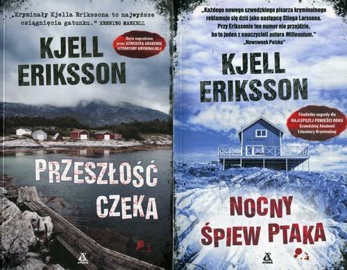 okładka Nocny śpiew ptaka / Przeszłość czeka Pakiet, Książka | Eriksson Kjell
