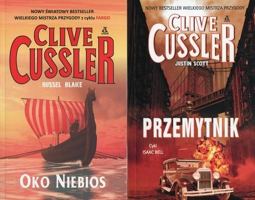 okładka Przemytnik / Oko Niebios Pakiet, Książka | Cussler Clive