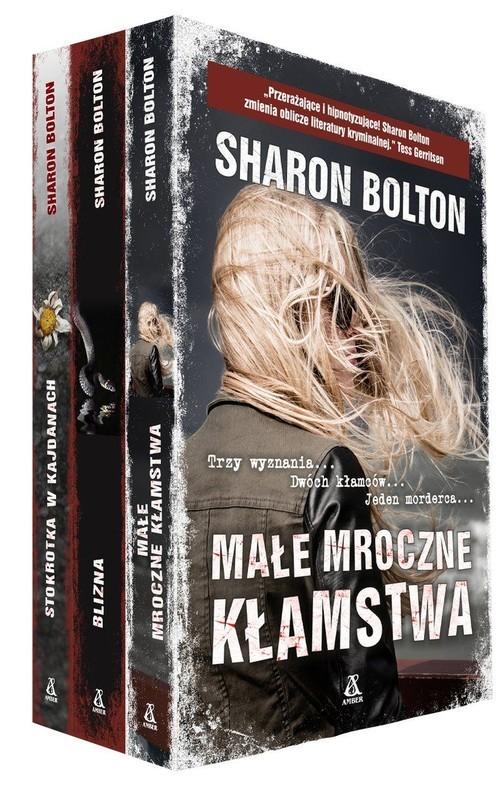 okładka Małe mroczne kłamstwa / Stokrotka w kajdanach / Blizna, Książka   Bolton Sharon