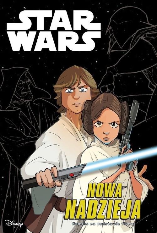 okładka Star Wars Nowa Nadzieja, Książka | Alessandro Ferrari, Studio Kawaii Creative, T