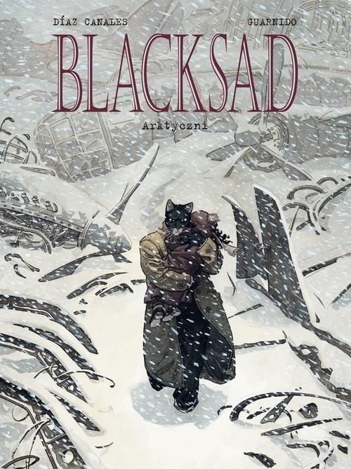 okładka Blacksad Tom 2 Arktyczni, Książka | Juan DiazCanales, Juanjo Guarnido