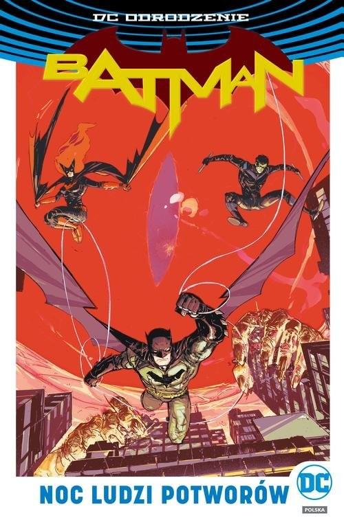 okładka Batman Noc Ludzi Potworów, Książka | James Tynion IV, Tim Seeley, Tom King, Orlan