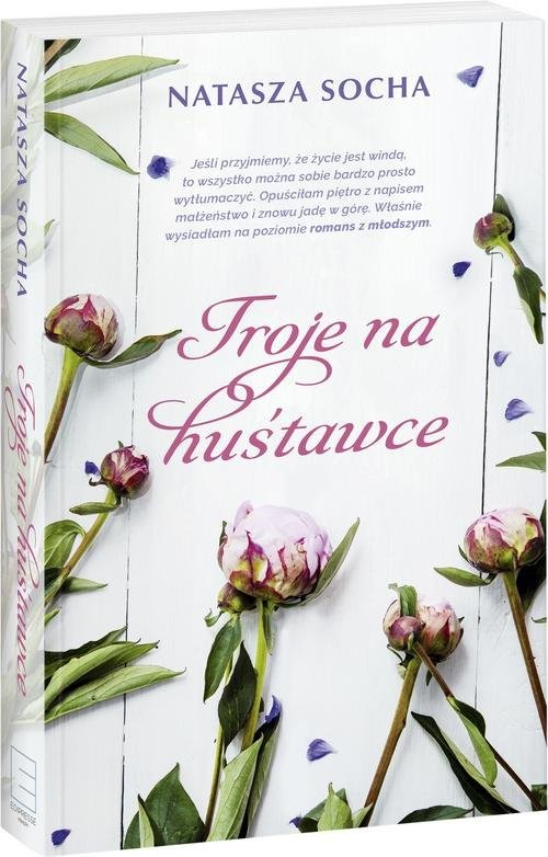 okładka Troje na huśtawce, Książka | Socha Natasza