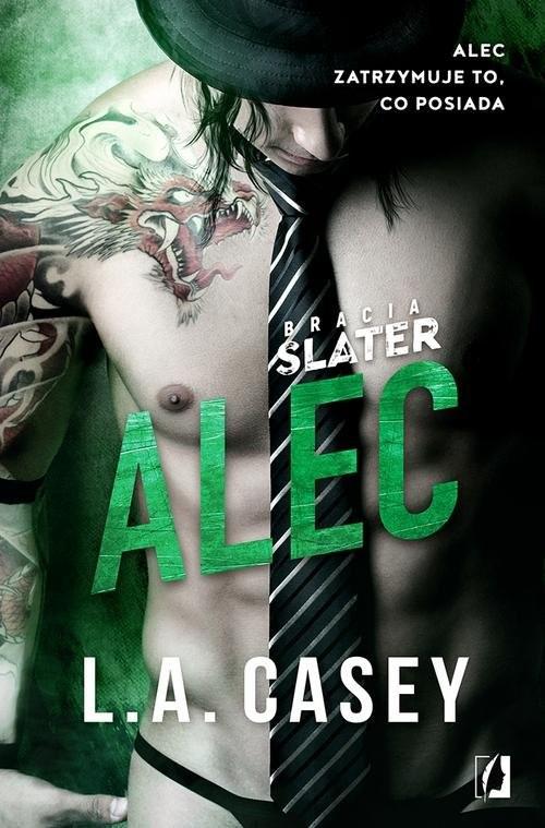 okładka Bracia Slater Alec, Książka | Casey L.A.
