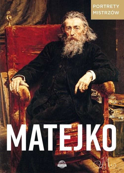 okładka Portrety mistrzów Matejko, Książka | Ristujczina Luba