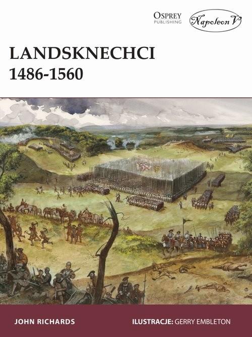 okładka Landsknechci 1486-1560, Książka | Richards John