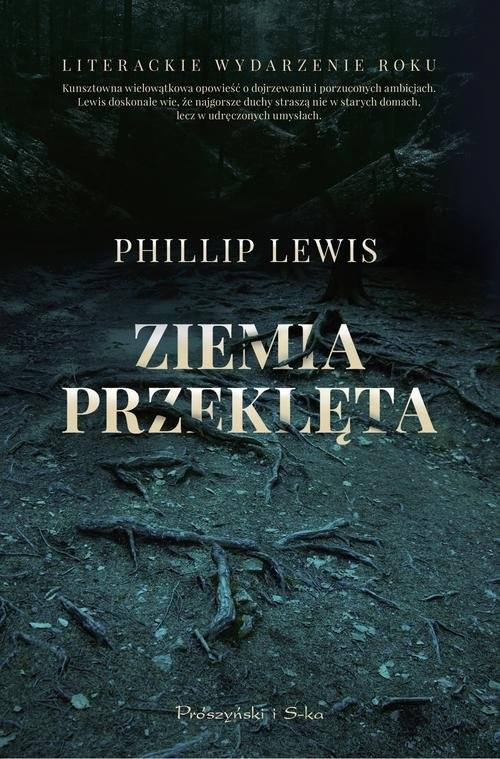 okładka Ziemia przeklęta, Książka | Lewis Philip