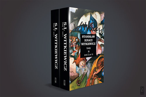okładka Listy II, Książka | Stanisław Ignacy Witkiewicz