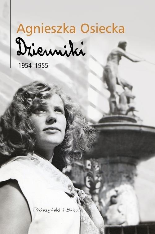 okładka Dzienniki 1954-1955, Książka   Agnieszka Osiecka
