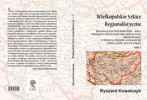 okładka Wielkopolskie Szkice Regionalistyczne Tom 2, Książka | Kowalczyk Ryszard